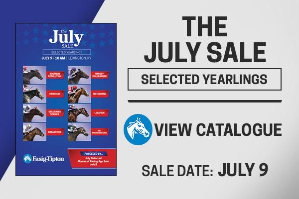 fasig-tipton the july sale selected yearlings