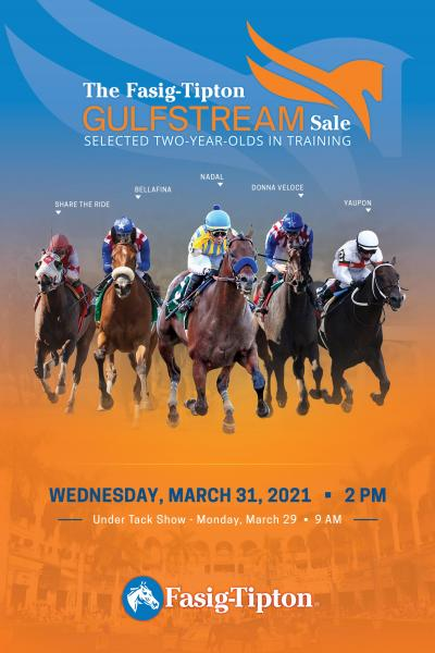 fasig-tipton the gulfstream sale catalogue